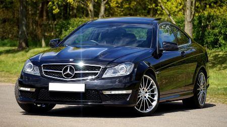 Mercedes Benz de lujo